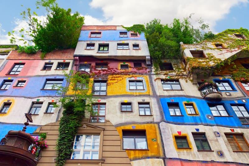 Casa de Hundertwasser en Viena, Austria. fotos de archivo libres de regalías