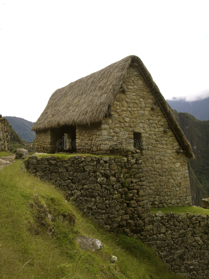 casa de hus pedrasten royaltyfria foton