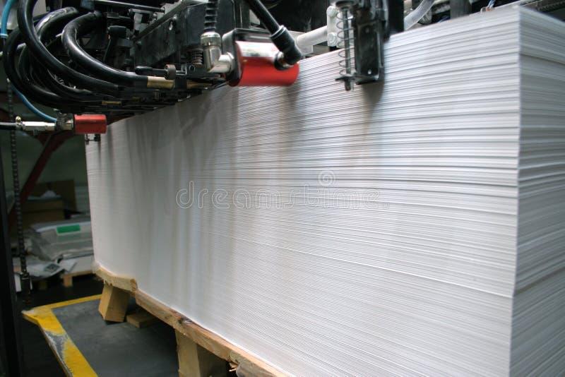 Casa de impresión imagen de archivo