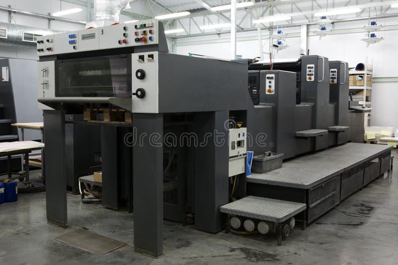 Casa de impressão moderna fotografia de stock