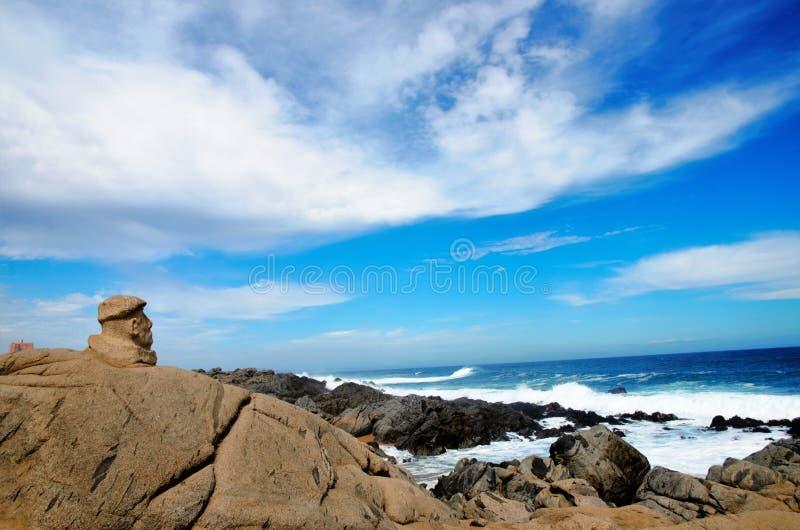 Casa de Isla Negra de Pablo Neruda foto de stock royalty free