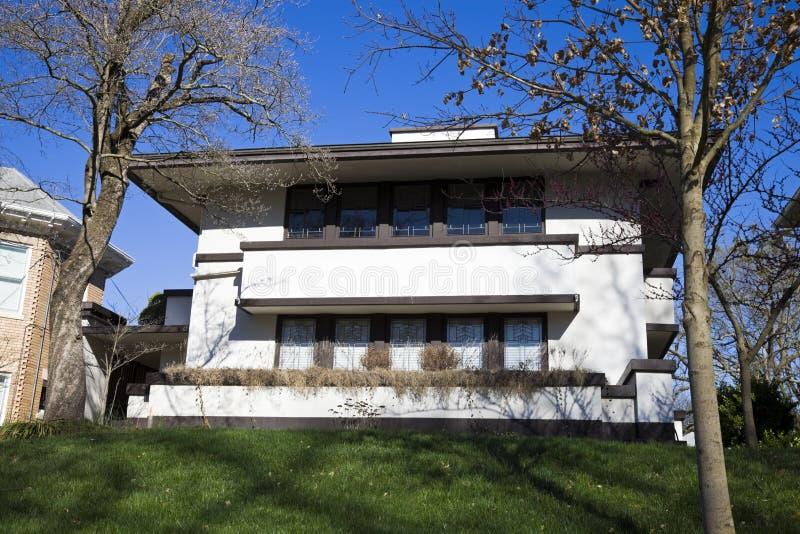 Casa de Jesse R. Zeigler foto de stock royalty free