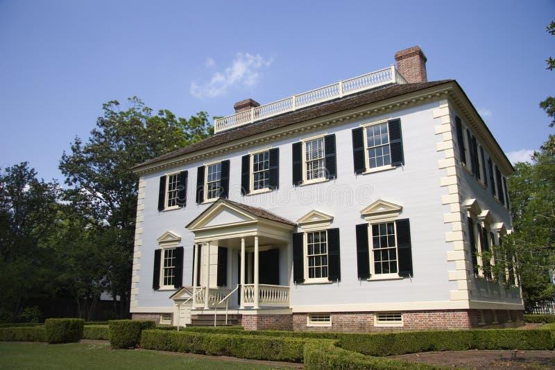 Casa de Juan Wright Stanly fotos de archivo