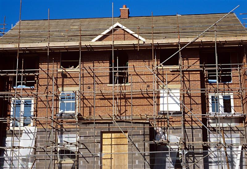 Casa de la construcción. imagen de archivo libre de regalías