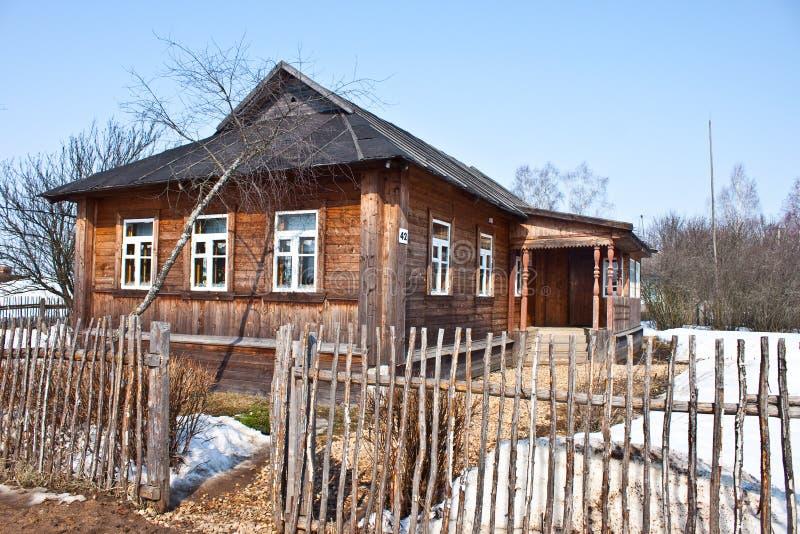 Casa de la familia de Gagarin imagenes de archivo