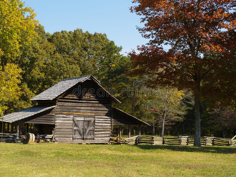 Casa de la granja imágenes de archivo libres de regalías