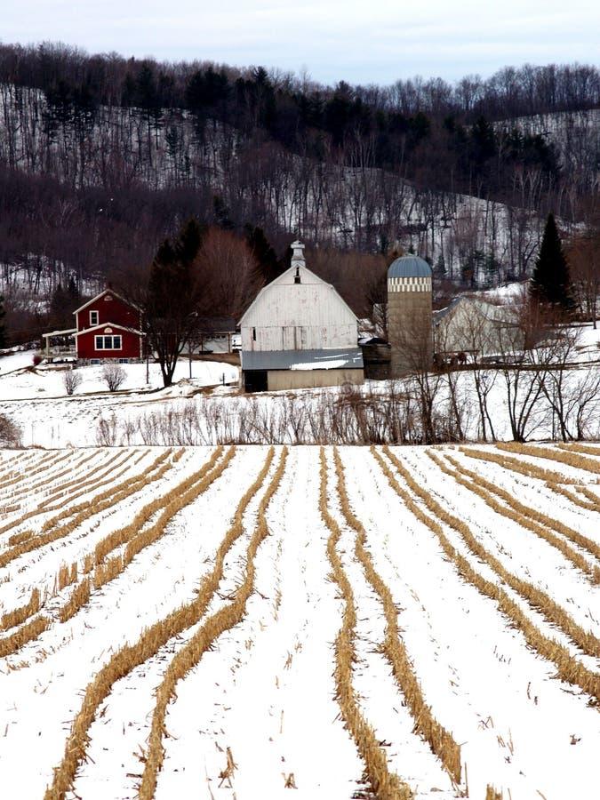 Casa de la granja fotografía de archivo libre de regalías
