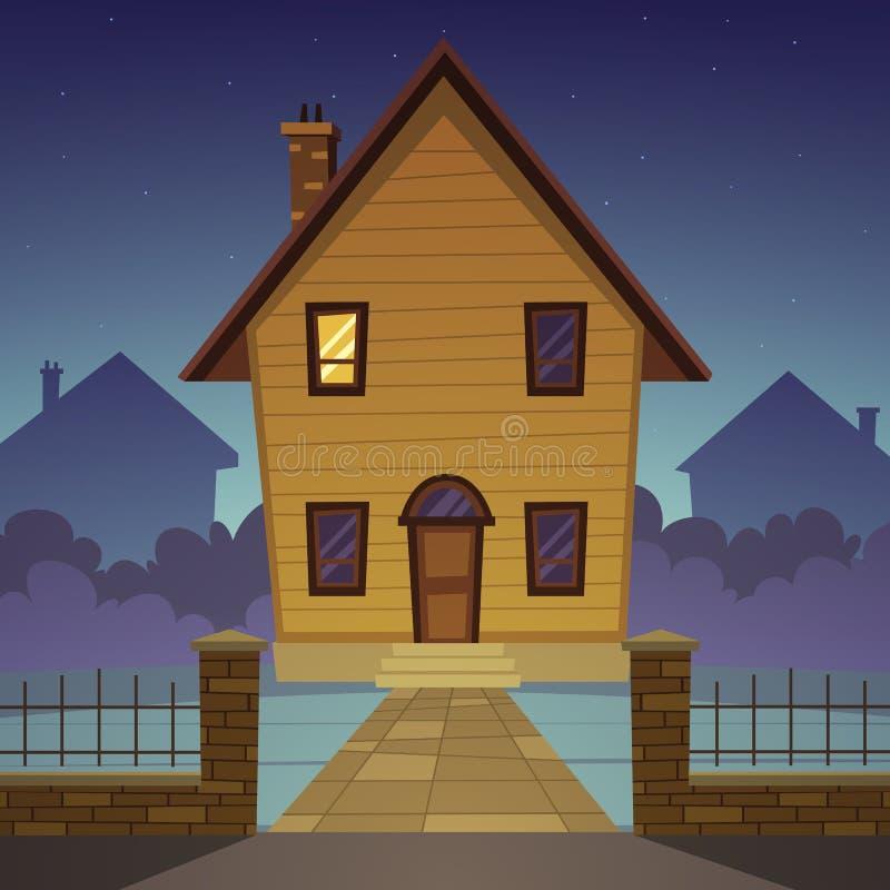 Casa de la historieta libre illustration