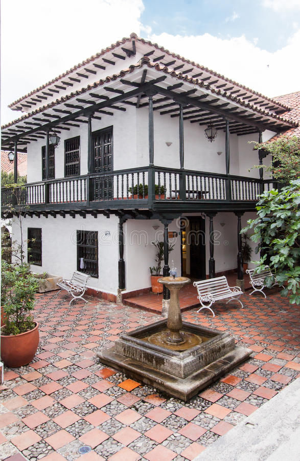 Casa de La Moneda Bogota Kolumbien lizenzfreie stockfotografie