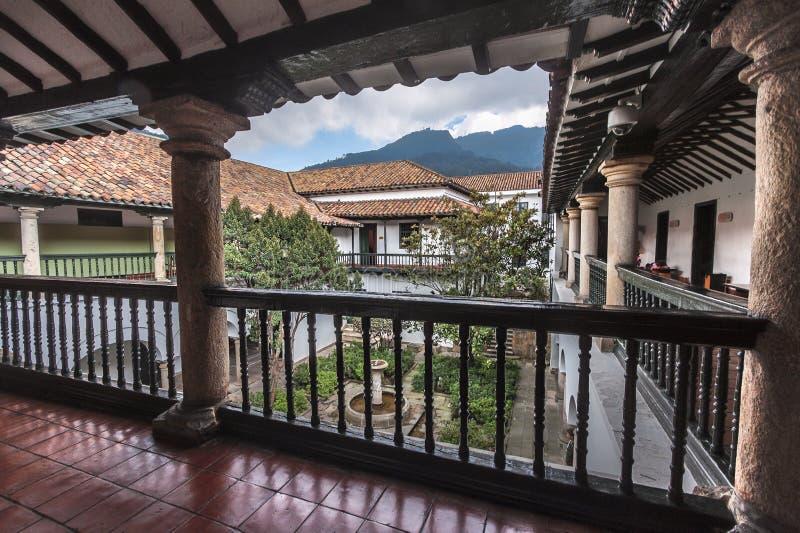 Casa de La Moneda Bogota Kolumbien stockfotos