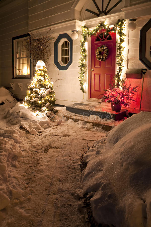 Casa de la Navidad imagen de archivo libre de regalías