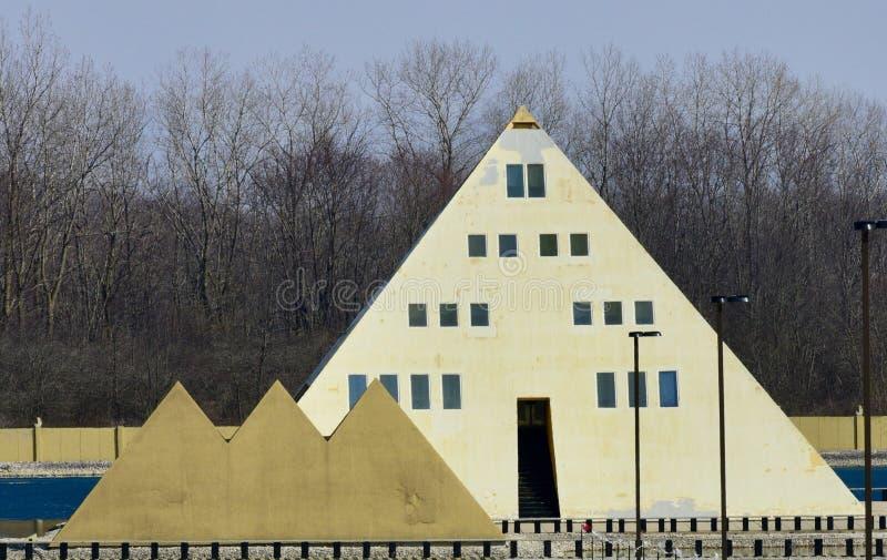 Casa de la pirámide del oro de Onan's imagen de archivo