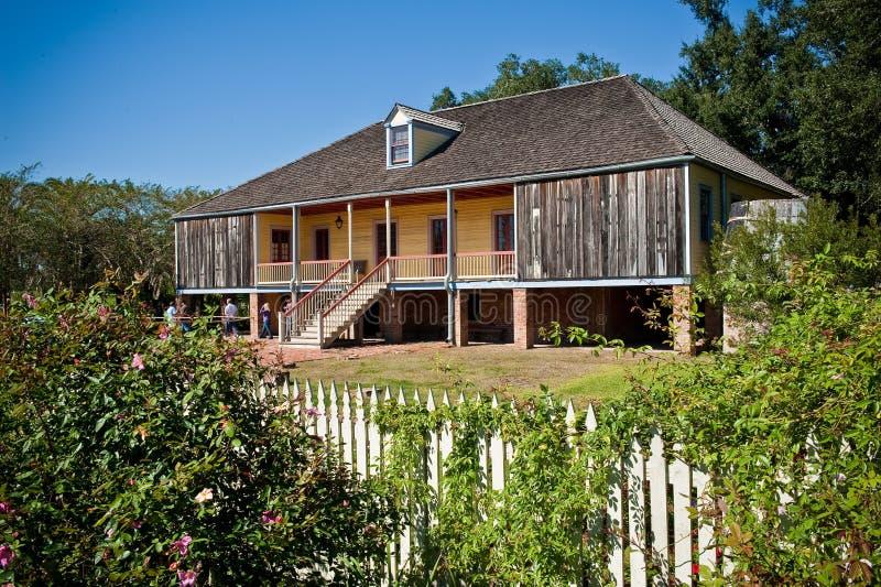 Casa de la plantación de Laura foto de archivo