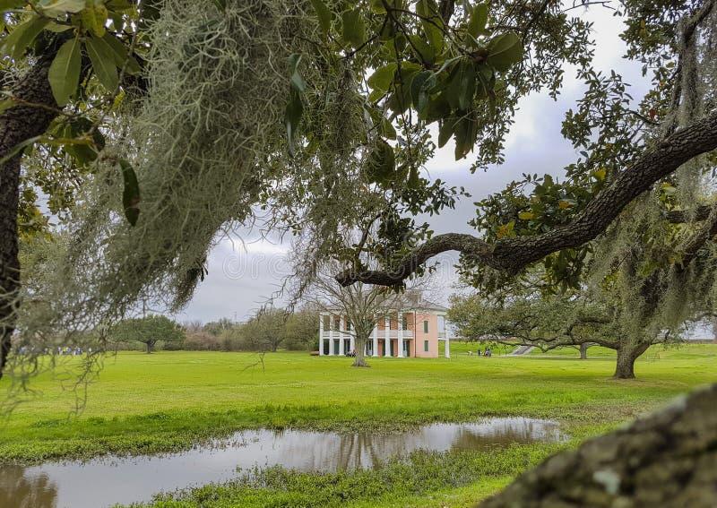 Casa de la plantación en Luisiana fotos de archivo
