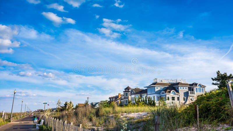 Casa de la playa foto de archivo