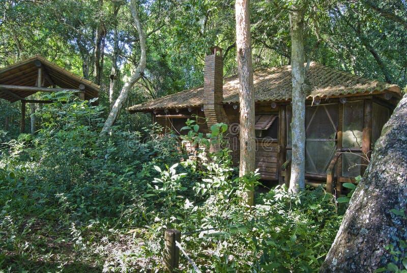 Casa de la selva fotos de archivo libres de regalías