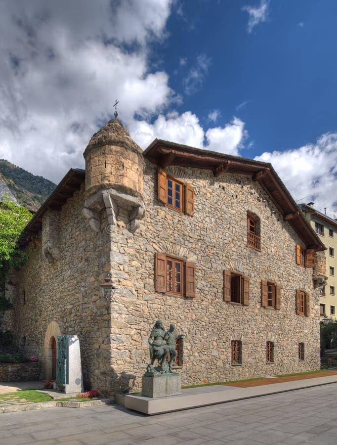 Casa de la Vall fotos de archivo