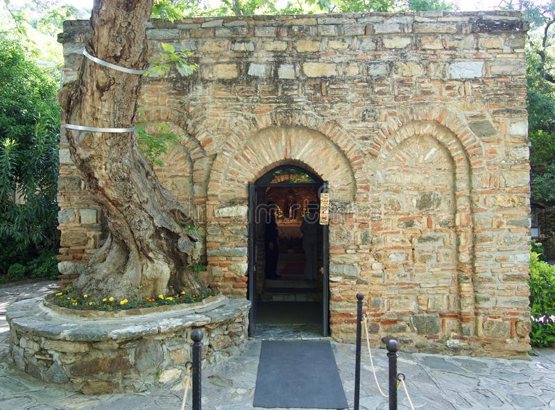 Casa de la Virgen Mar?a imagen de archivo