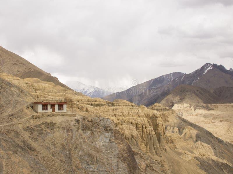 Casa de Ladakhi imagenes de archivo