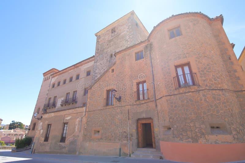 Casa de Las Cadenas house old building Segovia Spain. Casa de Las Cadenas house old building in Segovia Spain stock photos