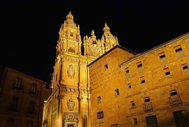 Casa de las Conchas, Salamanca fotografía de archivo libre de regalías