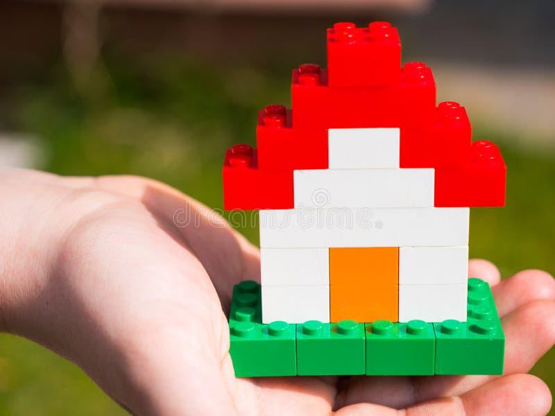 Casa de Lego fotos de archivo libres de regalías