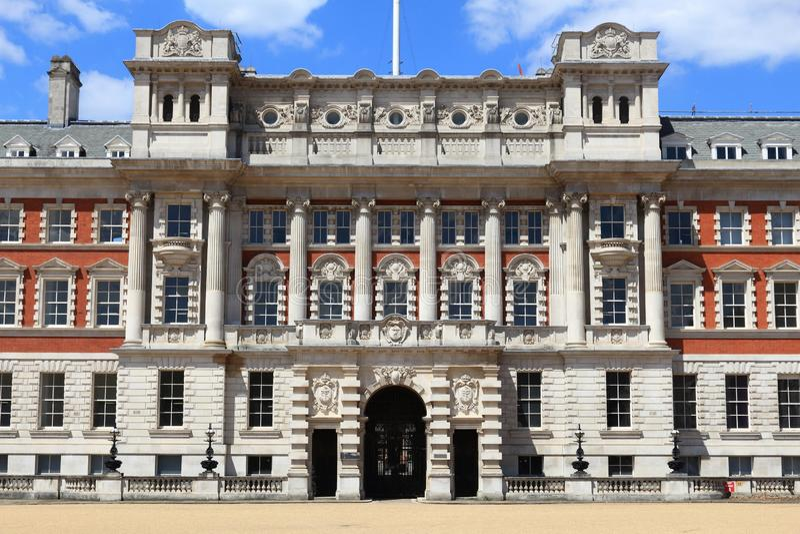 Casa de Londres Admiralty imagem de stock