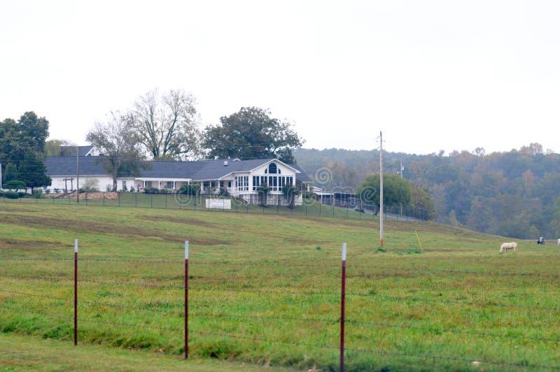 A casa de Loretta Lynn imagens de stock royalty free