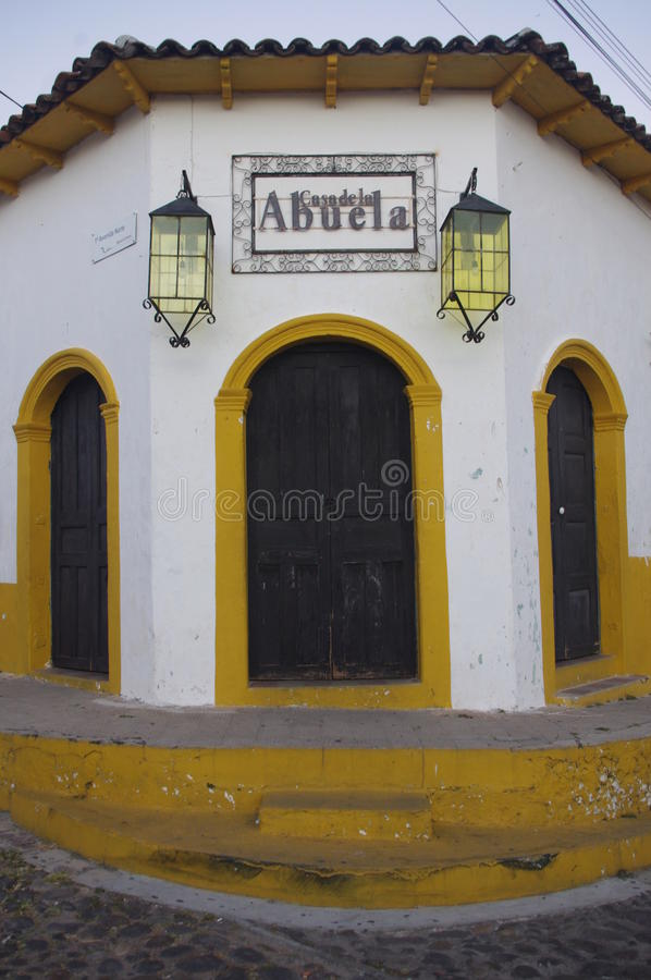 Casa De Los angeles Abuela w Suchitoto zdjęcie royalty free