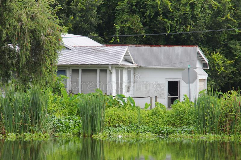 Casa de Luisiana imagen de archivo libre de regalías