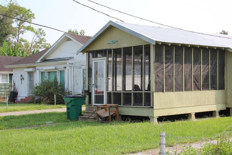 Casa de Luisiana imagenes de archivo