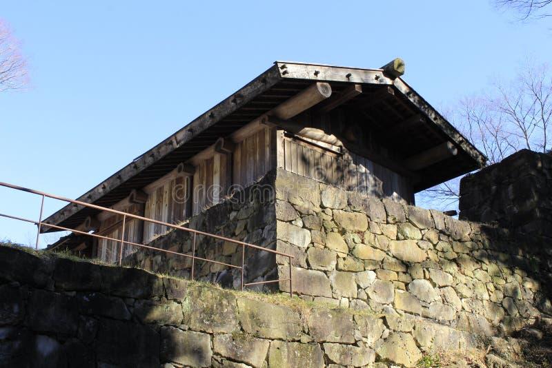 Casa de madeira velha imagem de stock
