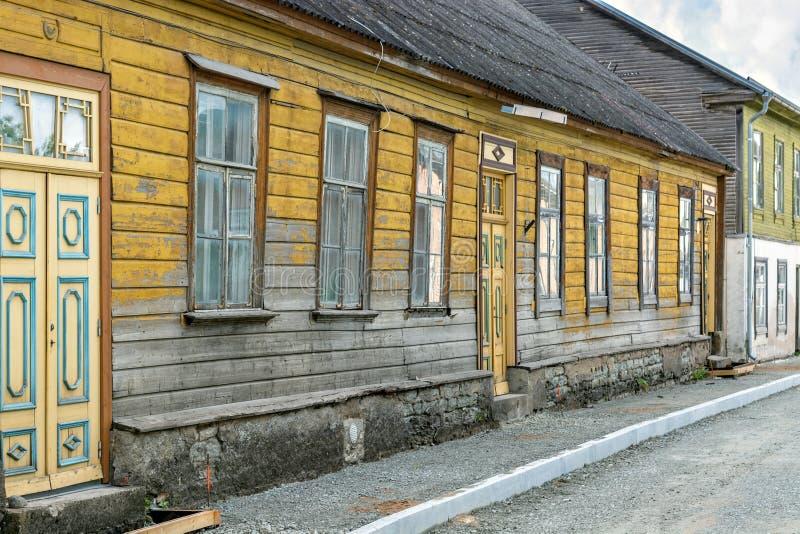 Casa de madeira velha foto de stock royalty free