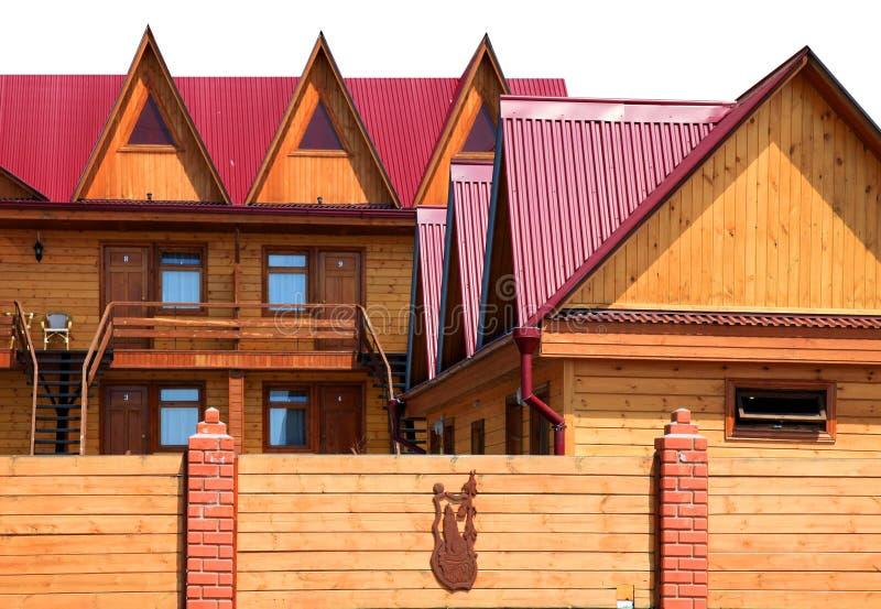 Casa de madera foto de archivo