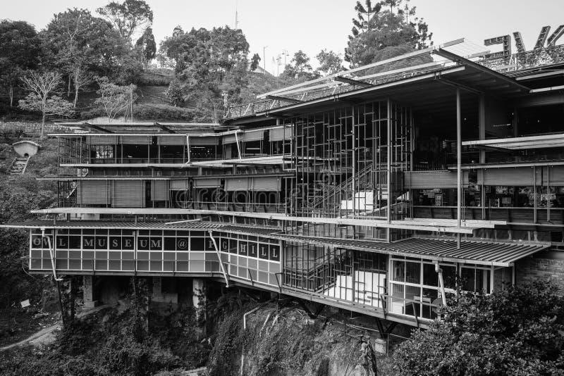 Casa de madera en la colina en Penang, Malasia fotografía de archivo