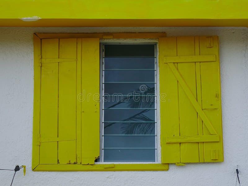 Casa de madera en Mauricio foto de archivo