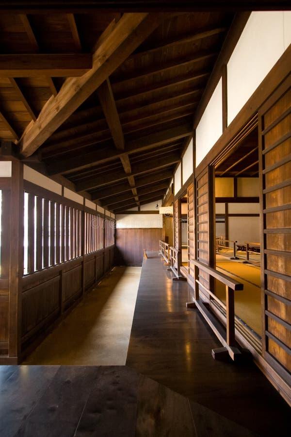 Casa de madera japonesa tradicional imagen de archivo libre de regalías