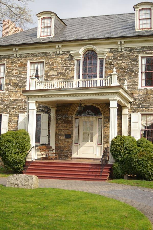 Casa de mansión foto de archivo libre de regalías