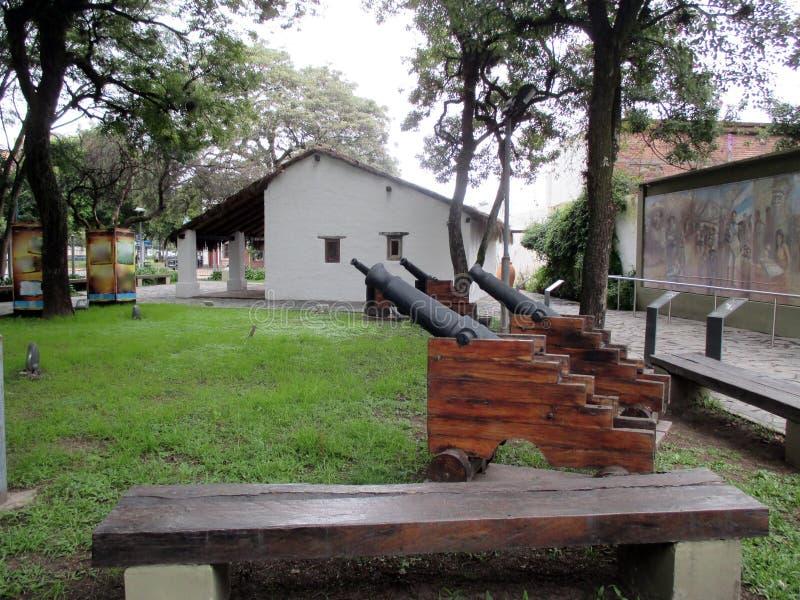 Casa de Manuel Belgrano en el ¡n la Argentina de Tucumà foto de archivo libre de regalías