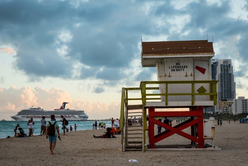 Casa de Miami Beach foto de archivo