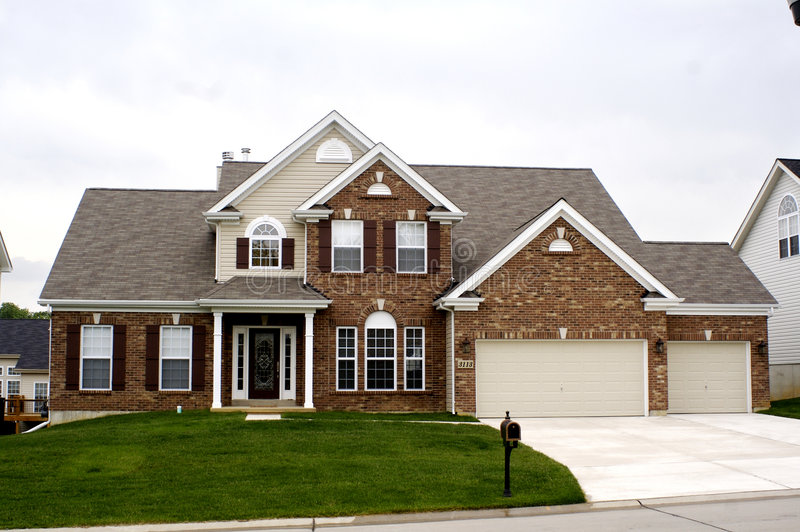 Casa de Midwest foto de stock