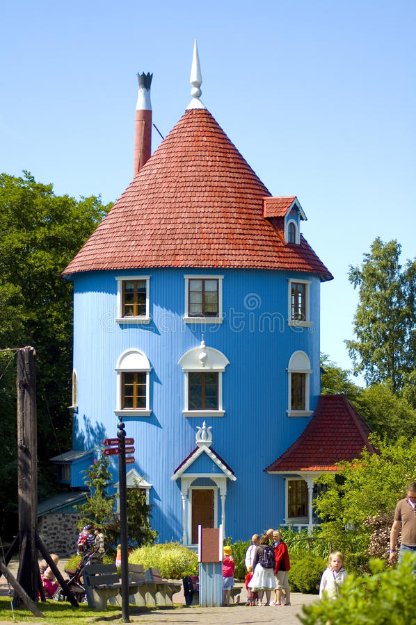 A casa de Moomin foto de stock royalty free