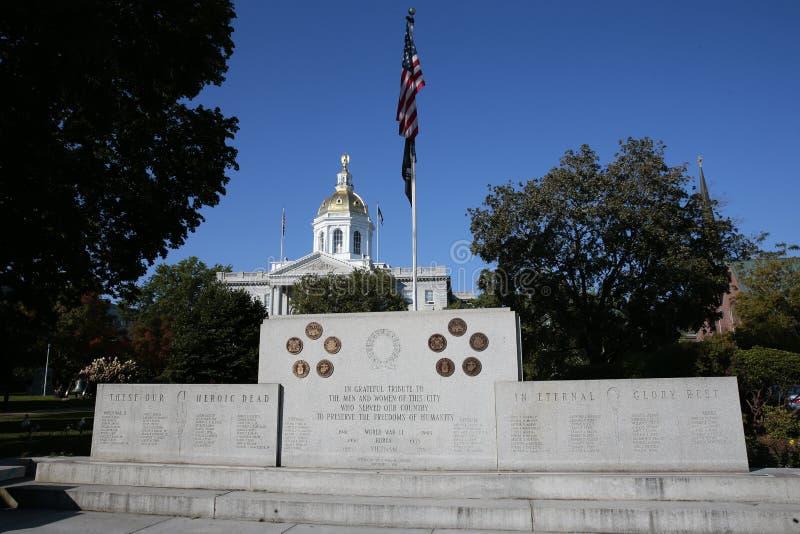 Casa de New-Hampshire do estado imagem de stock