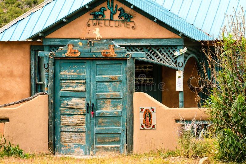 Casa de New mexico imagem de stock