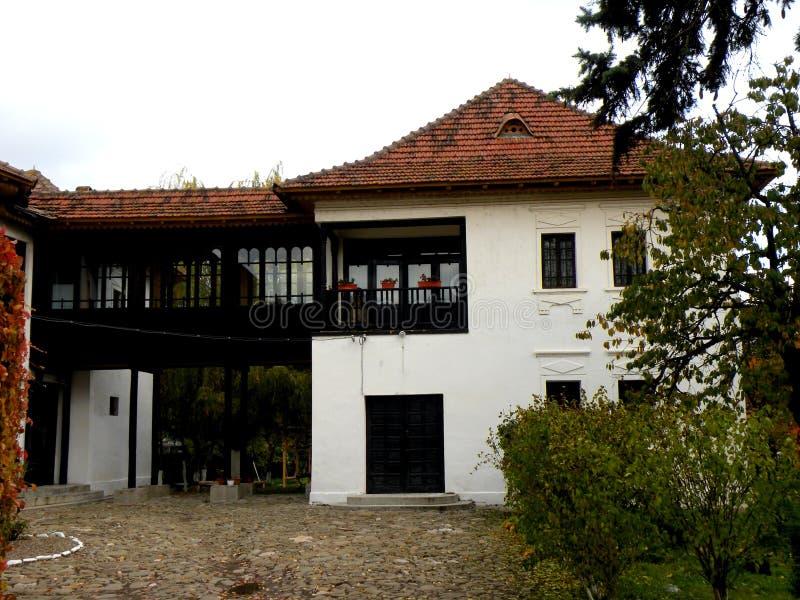 Casa de Nicolae Iorga, Valenii de Munte, Rumania fotografía de archivo libre de regalías