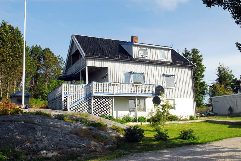 Casa de Noruega imagens de stock