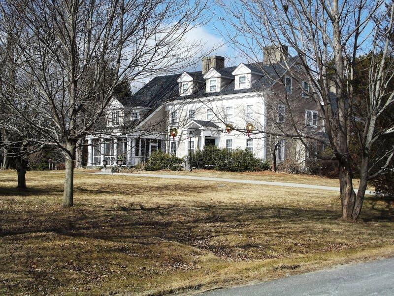 Casa de Nueva Inglaterra imagenes de archivo