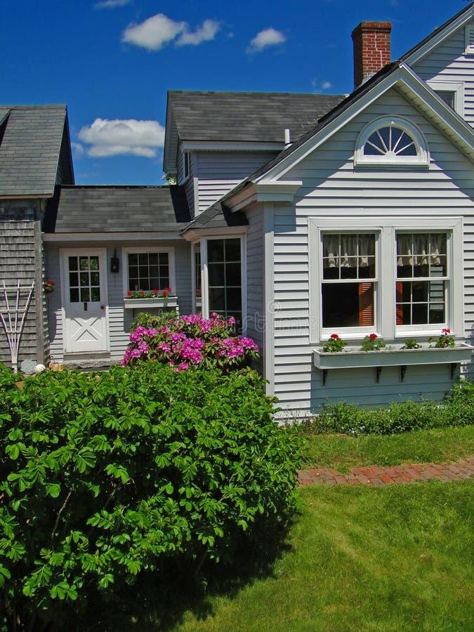 Casa de Nueva Inglaterra foto de archivo