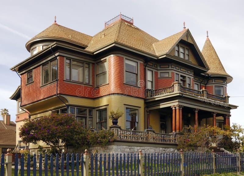 Casa de pão-de-espécie do Victorian imagem de stock royalty free