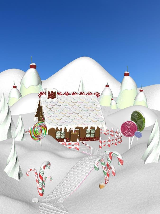 Casa de pan de jengibre II libre illustration
